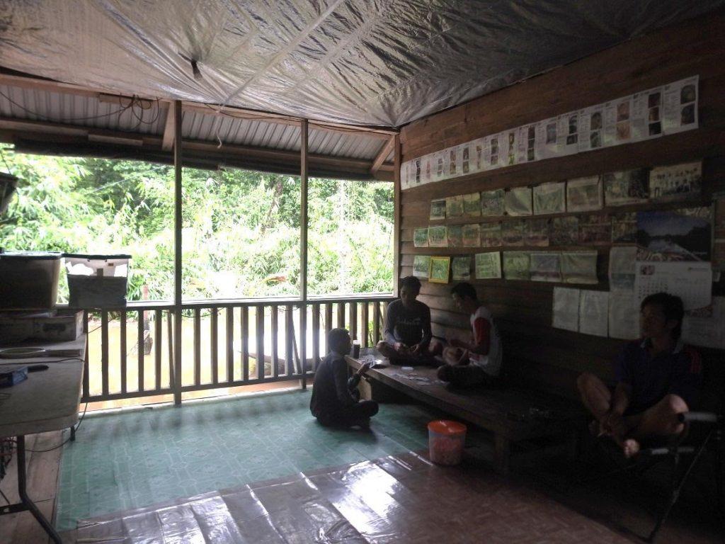 Camp Total Jalu Hit by Big Flood Yet - Borneo Orangutan Survival