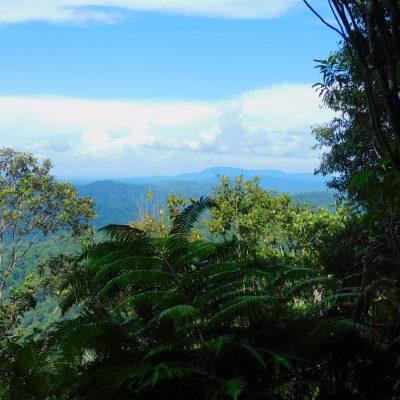 Long trek with breathtaking views